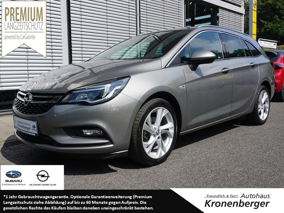 Opel Astra 1.4 Dynamic Navi AHK Sitzheizung, Jahr 2017, Benzin