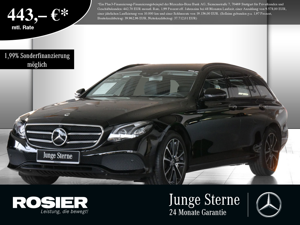 Mercedes-Benz E 450 T Avantgarde 4M, Jahr 2018, Benzin