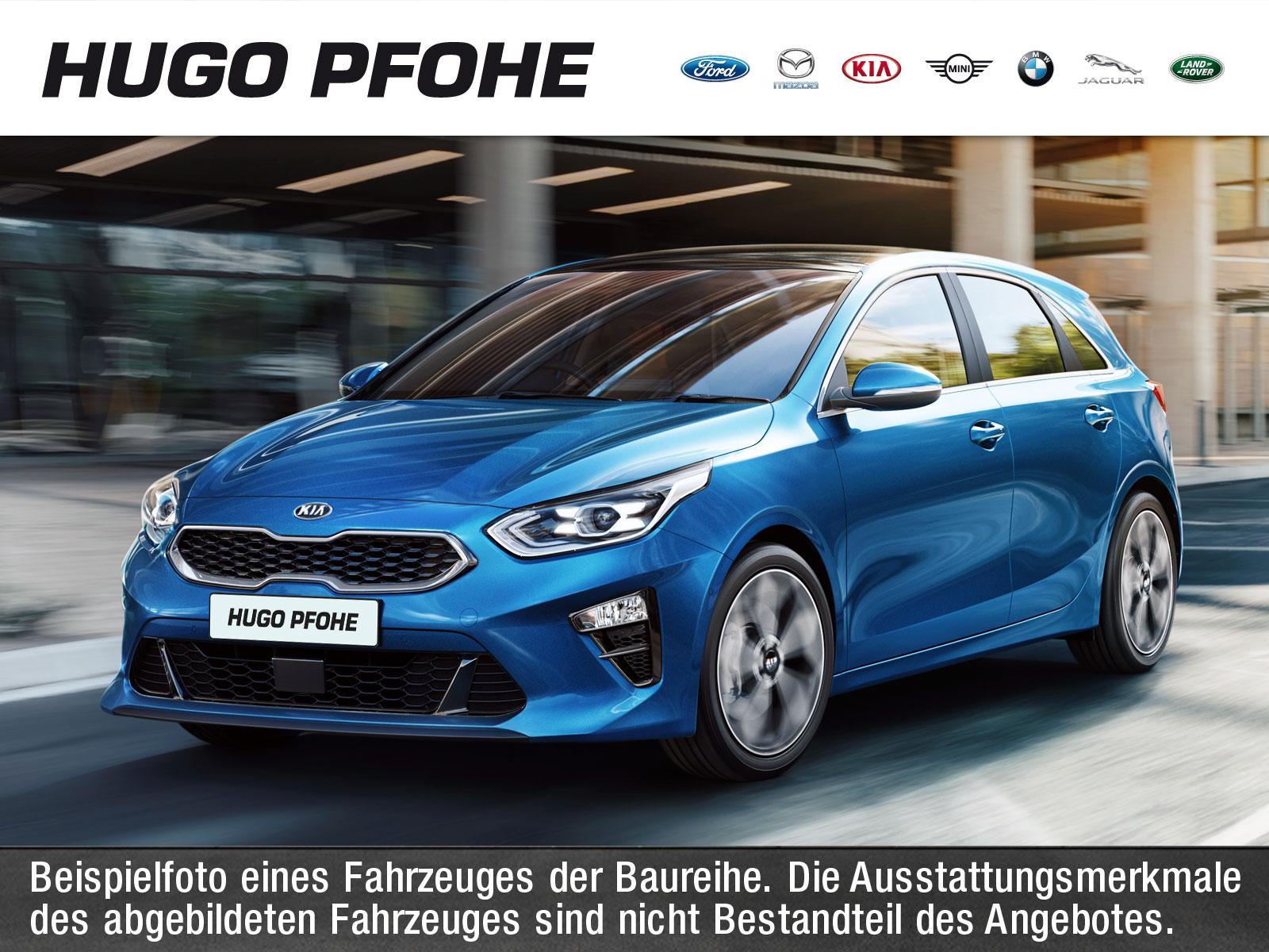 Kia cee'd Vision 1.4 T-GDI 103 kW. 5-türig, Jahr 2020, Benzin
