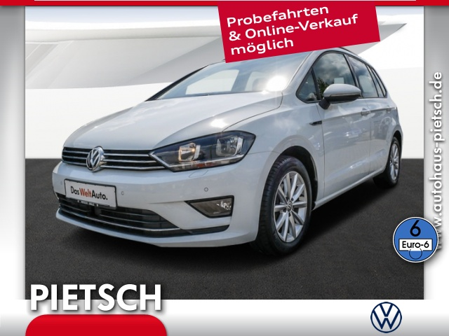 Volkswagen Golf Sportsvan 1.2 TSI Lounge-USB Tempomat Klima, Jahr 2016, Benzin