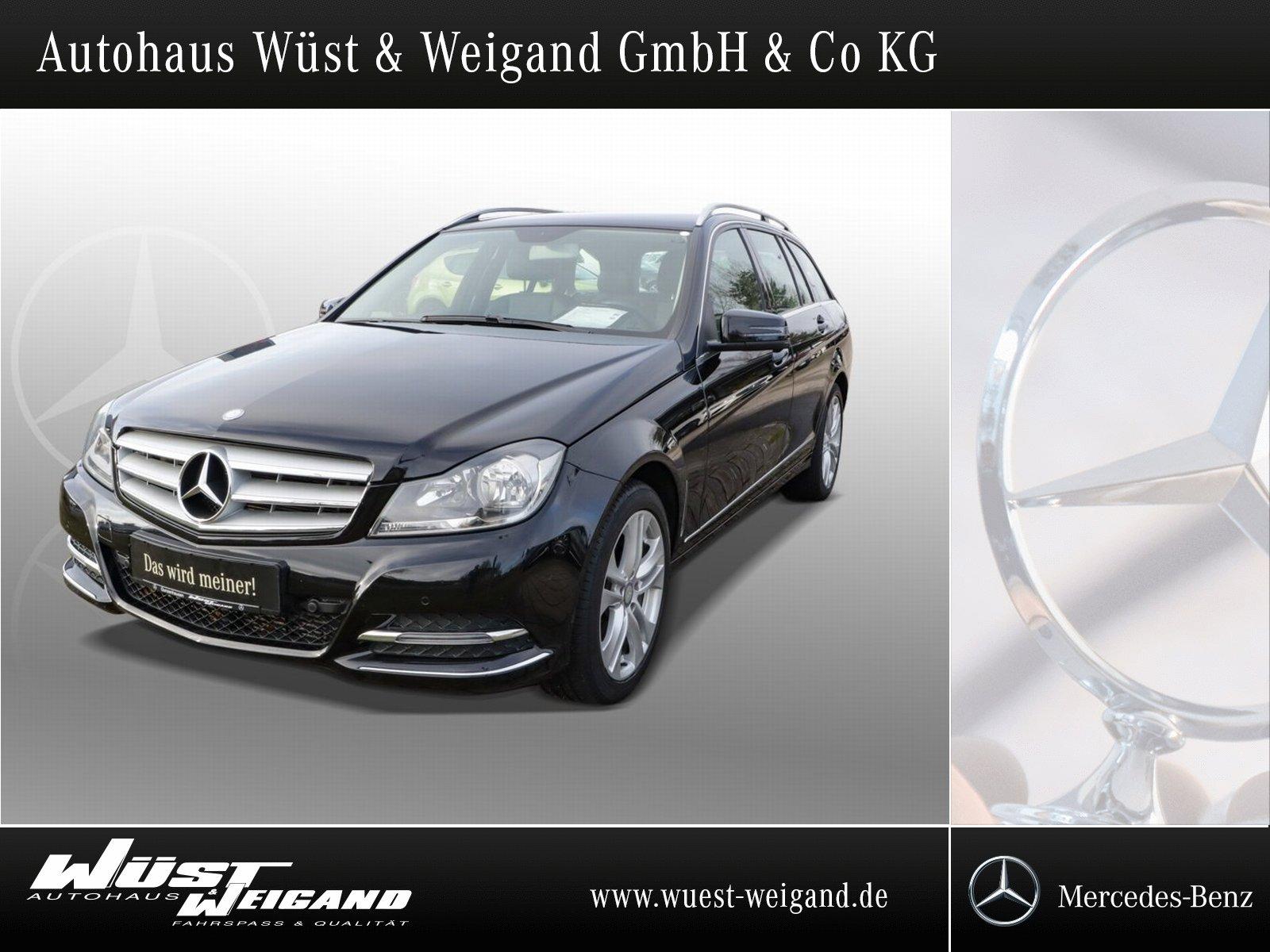 Mercedes-Benz C 180 CGI Avantgarde+Navi+SHZ+AHK+PTS+Bluetooth, Jahr 2014, Benzin