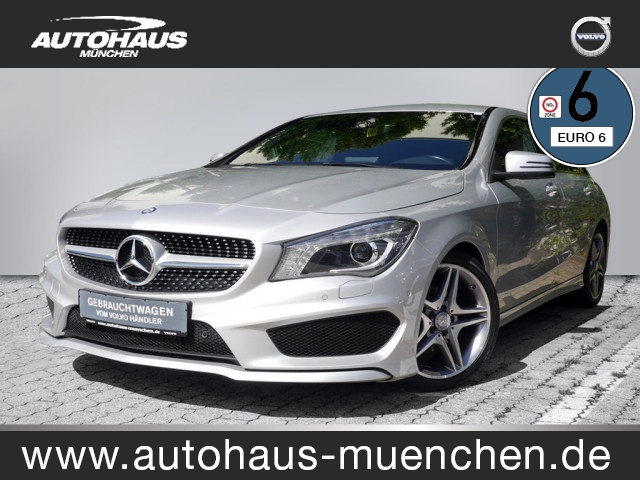 Mercedes-Benz CLA 200 Shooting Brake AMG Line, Jahr 2016, Benzin