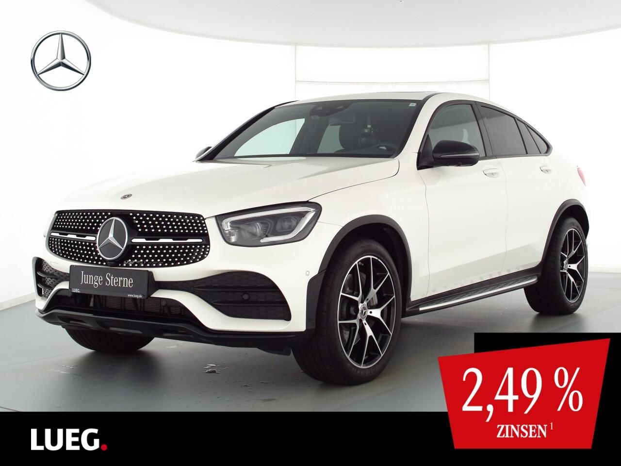 Mercedes-Benz GLC 300 4M Coupe AMG+MBUX+SHD+Burm+Mbeam+20''+36, Jahr 2020, Benzin