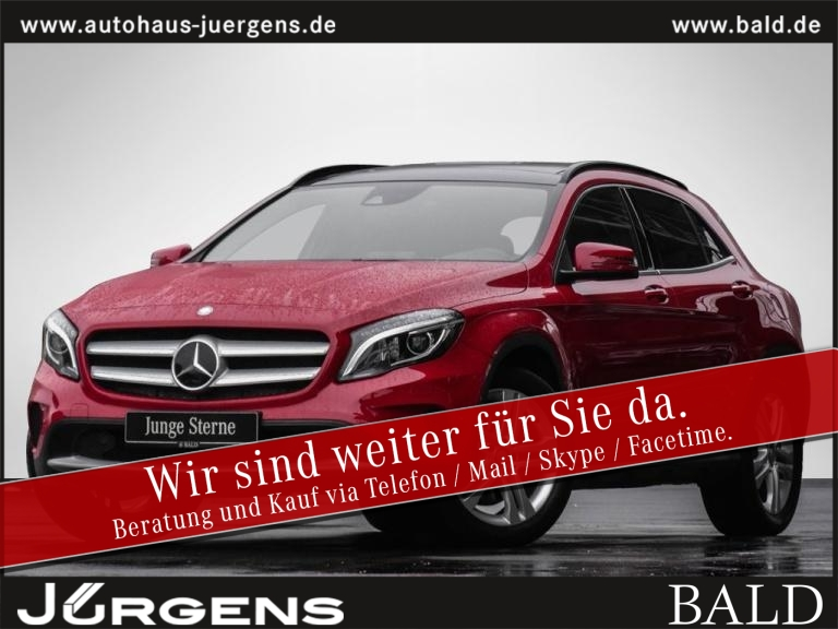 Mercedes-Benz GLA 250 4M Style/Comand/ILS/Pano/Cam/Distr/SHZ, Jahr 2016, Benzin