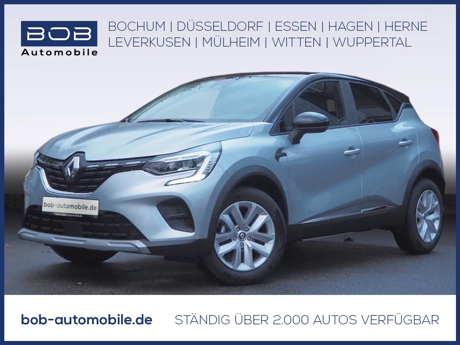 Renault Captur EXPERIENCE TCe 90 SHZ PDC KLIMA BT, Jahr 2021, Benzin