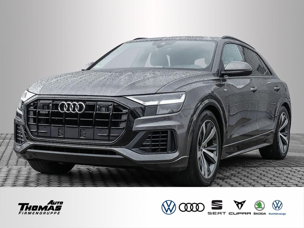"""Audi Q8 """"S line"""" 50 3.0 TDI quattro Tiptronic LED+AHK, Jahr 2019, diesel"""