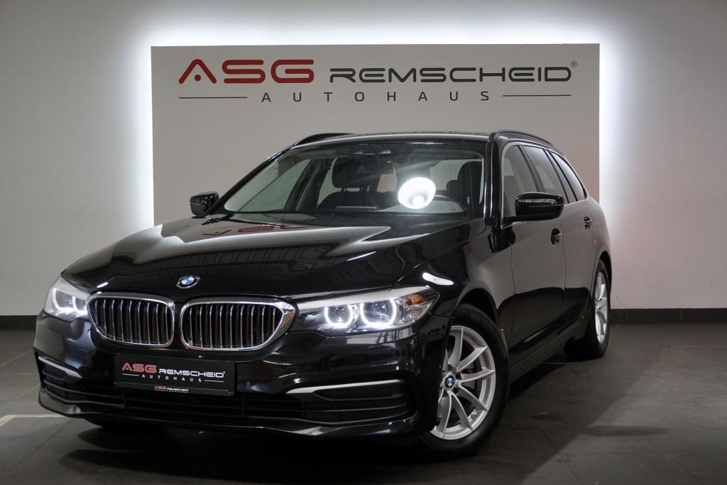 BMW 520d Autm. *1.Hand *LED *MwSt. *Scheckheft *, Jahr 2018, Diesel