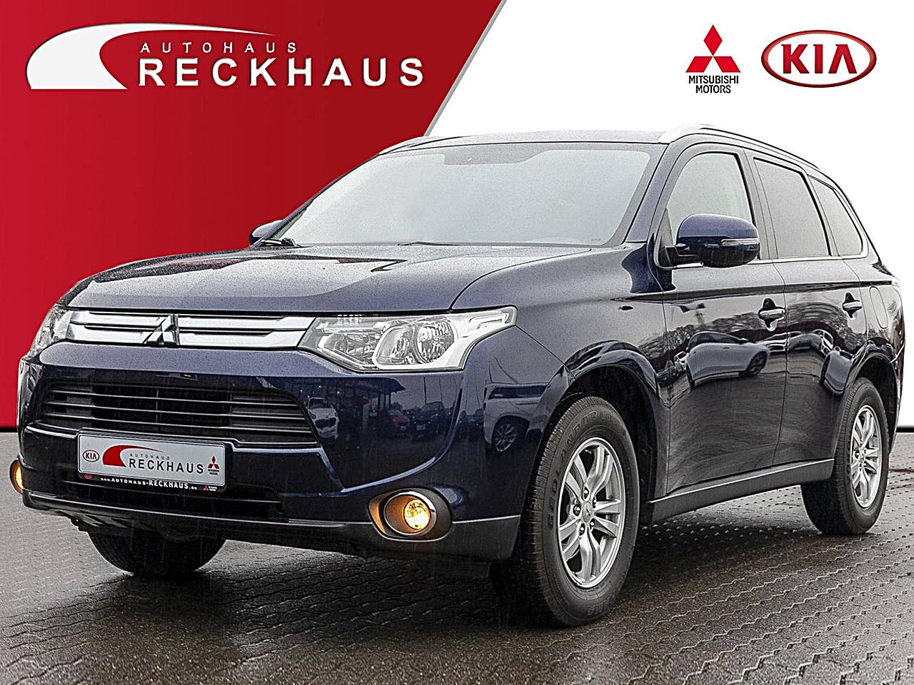 Mitsubishi Outlander 2,0 2WD Intense 7- Sitzer Klima Navi, Jahr 2015, Benzin