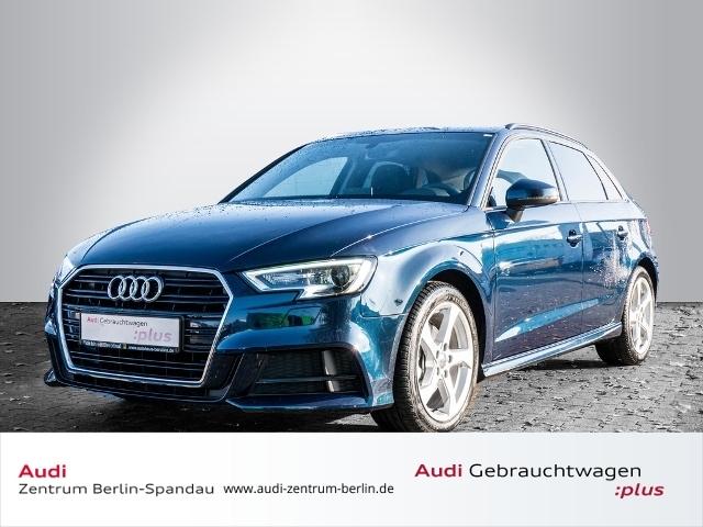 Audi A3 Sportback 30 TFSI S line *NAVI*B&O*GRA*, Jahr 2019, petrol
