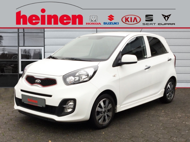 Kia Picanto Dream Team 1.0 Klimaaut. Bluetooth. USB., Jahr 2014, petrol
