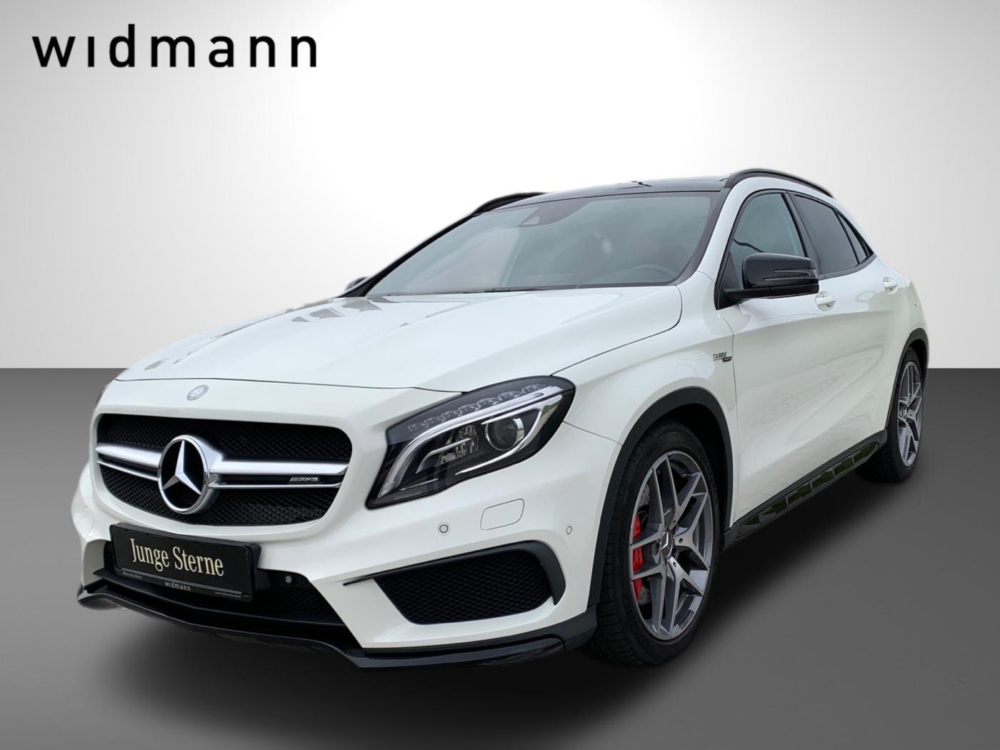 Mercedes-Benz GLA 45 AMG 4M Designo*Comand*Pano.-Dach*Sport-AG, Jahr 2015, Benzin