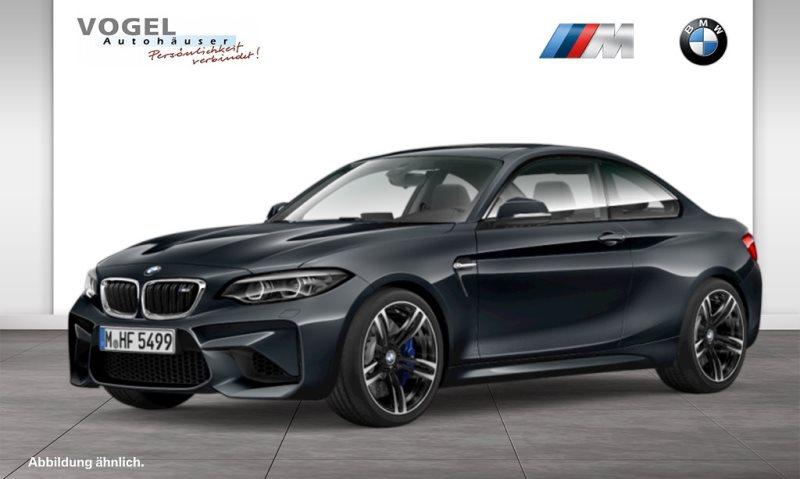 BMW M2 Coupé Euro 6 Navi Prof Rückfahrkamera PDC Klima Sitzheizung Speed Limit Info LED Tempomat Lichtpaket Pano.-Glasdach, Jahr 2018, Benzin
