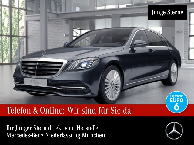 Mercedes-Benz S 560 L 4M Pano Multibeam Burmester Distr. COMAND, Jahr 2017, Benzin