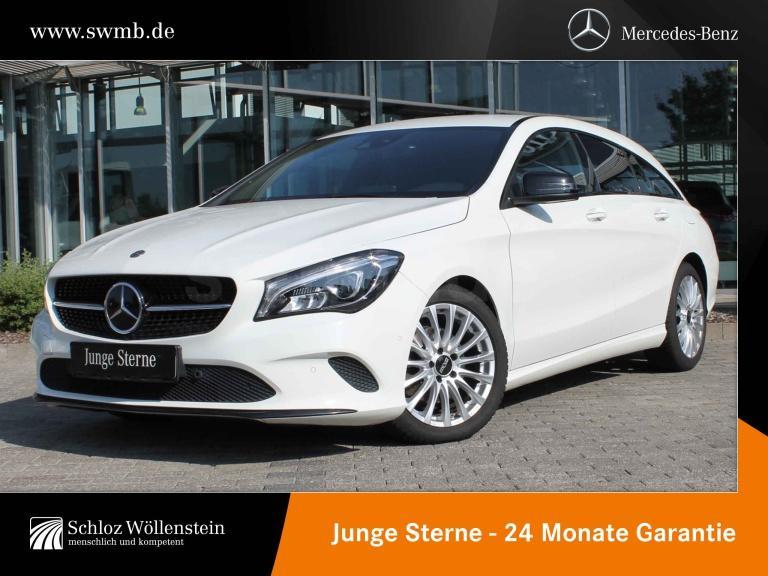 Mercedes-Benz CLA 220 d SB Urban NightP/DISTRONIC/KeyGo/RF-Kam, Jahr 2017, Diesel