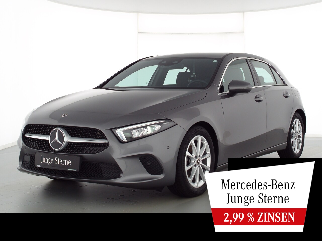 Mercedes-Benz A 180 LED+PDC, Jahr 2020, Benzin
