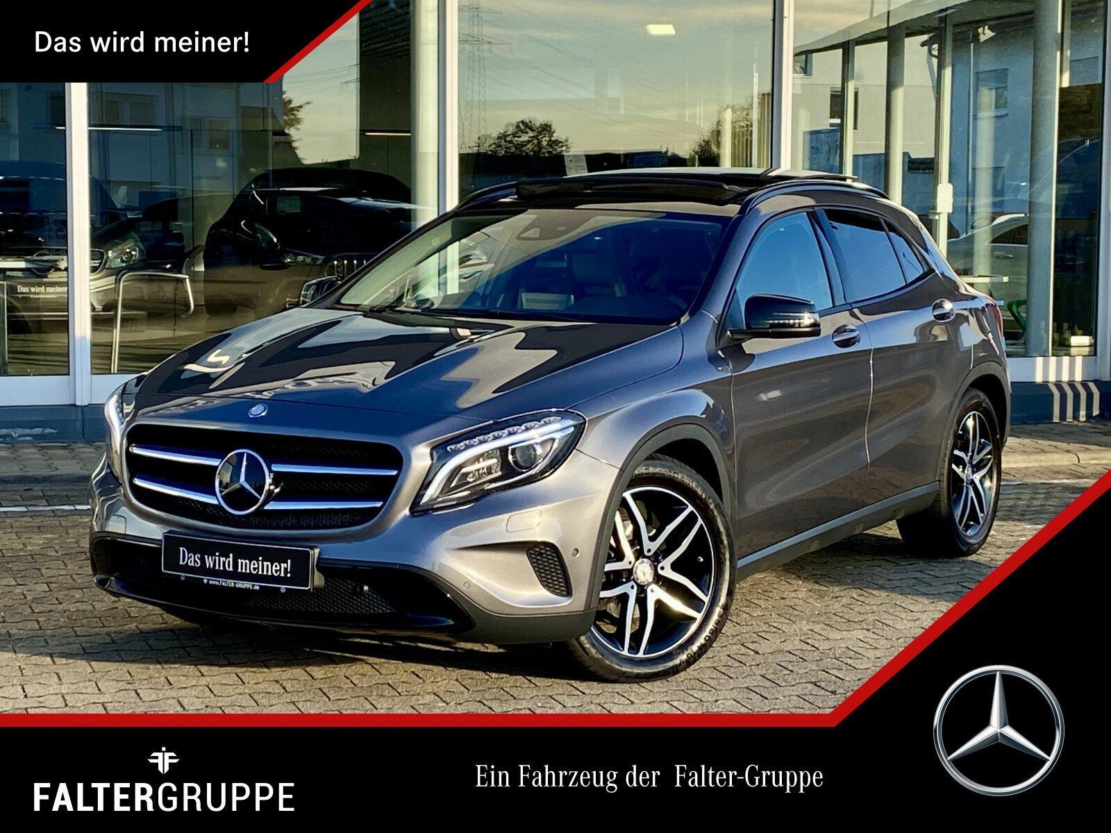 Mercedes-Benz GLA 220 d 4M COMAND+DISTR+SPUR/TOT+PAN+ILS+NIGHT, Jahr 2017, Diesel