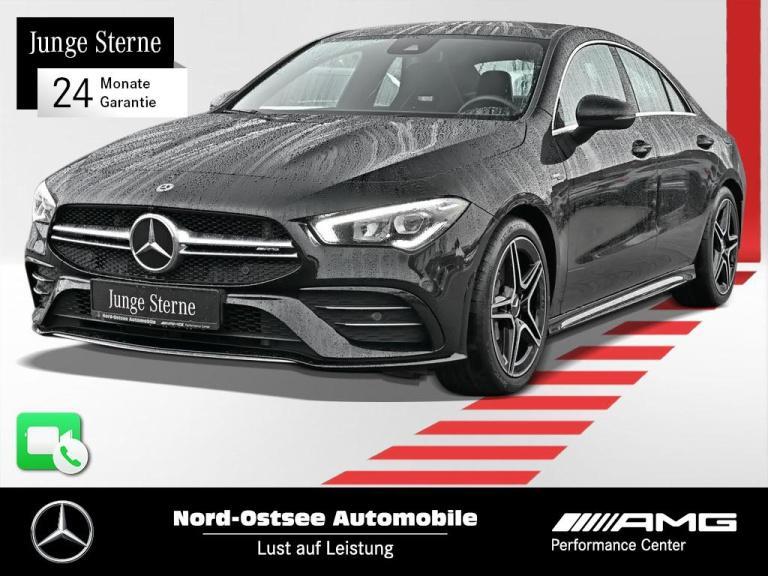 Mercedes-Benz CLA 35 AMG 4M Designo MBUX Pano LED Kamera GPS, Jahr 2020, Benzin