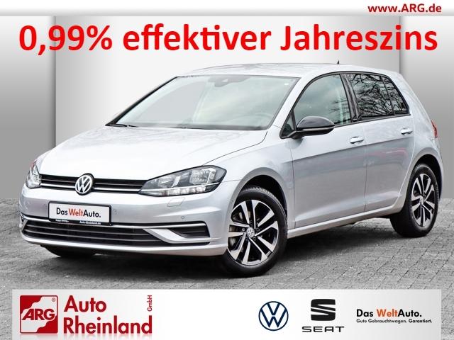 Volkswagen Golf VII IQ.DRIVE 1.5 TSI OPF DSG ACC/GRA/Parklenkass./SHZ, Jahr 2019, Benzin