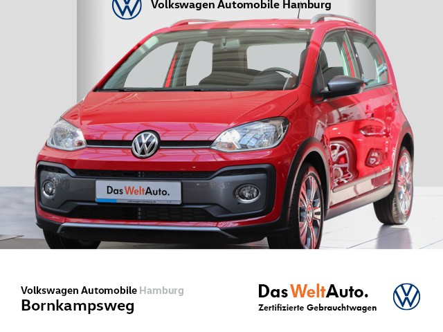 Volkswagen cross up! 1.0 Start-Stopp SITZHZG/CLIMATRONIC/RADIO, Jahr 2018, Benzin