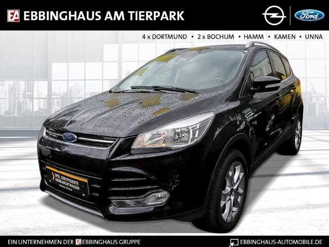 Ford Kuga Titanium 2.0 TDCi Klimaauto Rückfahrkamera Einparkhilfe v+h Sitzhzg, Jahr 2016, Diesel