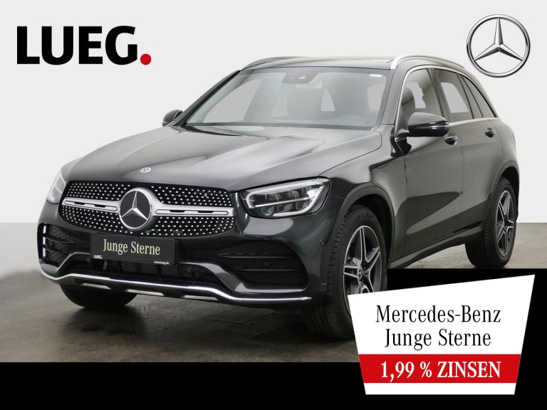 Mercedes-Benz GLC 300 4M AMG+MBUX+Navi+Pano+LED-HP+SpurP+ParkA, Jahr 2020, Benzin
