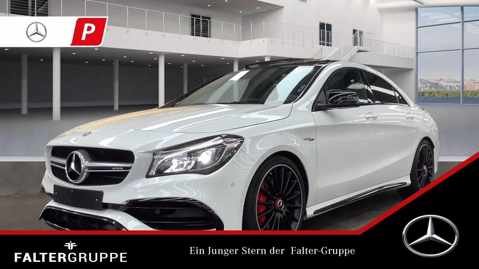 Mercedes-Benz CLA 45 Night DYNAMIC+ Perf.Sitze+AGA Pano SpurPk, Jahr 2018, Benzin