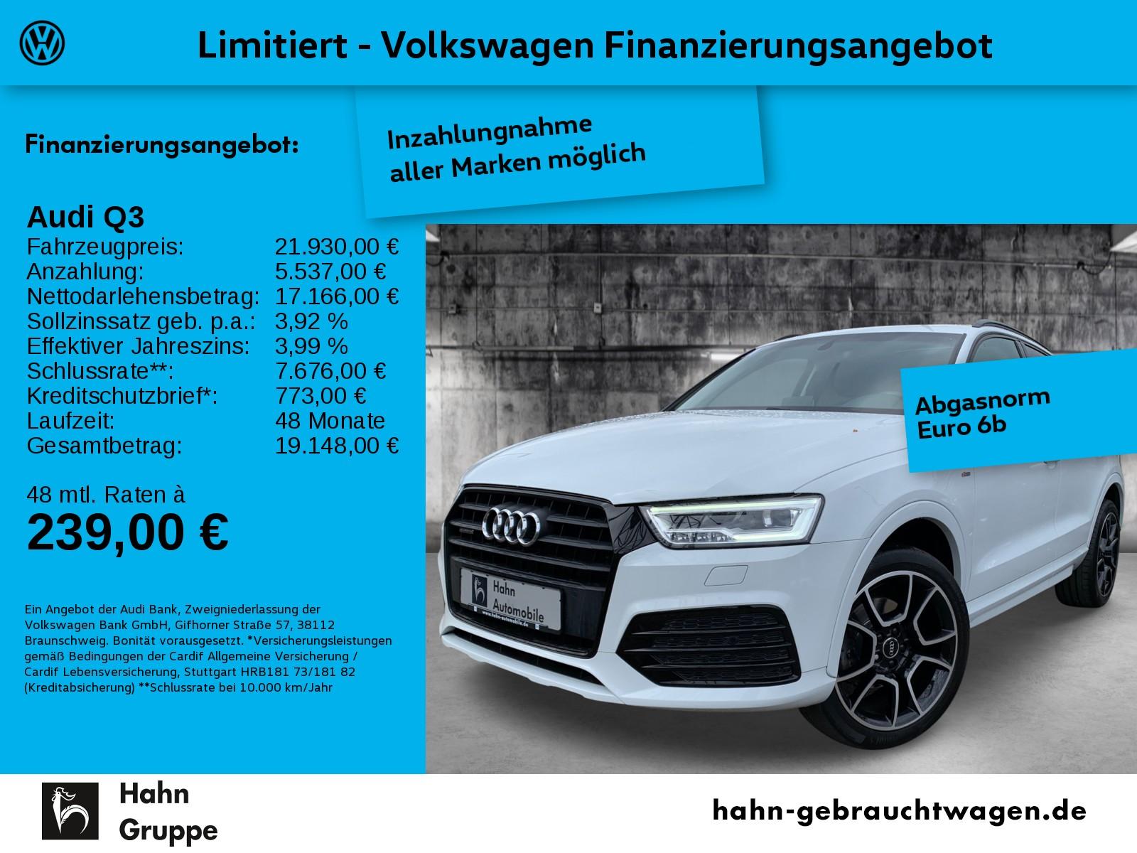 Audi Q3 sport quattro 2,0TDI S tronic S line Pano AHK, Jahr 2016, Diesel