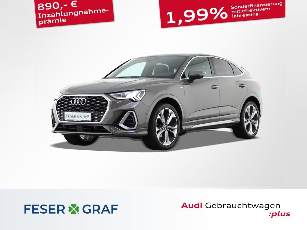 Audi Q3 Sportback S line 35 TFSI AHK/Matrix/B&O/20`, Jahr 2020, Benzin