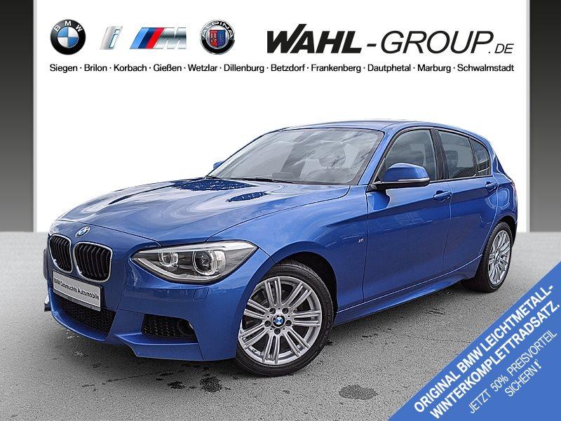 BMW 120d 5-Türer Aut. M Sportpaket Xenon Radio Prof., Jahr 2014, Diesel