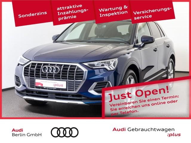 Audi Q3 advanced 40 TFSI qu.S tr. PANO STDHZG NAVI, Jahr 2020, Benzin
