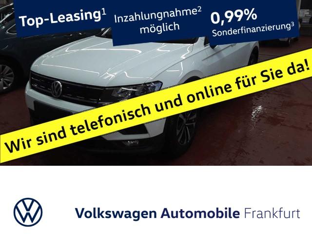 Volkswagen Tiguan 2.0 TDI Comfortline Einparkhilfe Navi AKH Leichtmetallfelgen Tiguan 2.0 CLBMTFR 110TDIM6F, Jahr 2020, Diesel