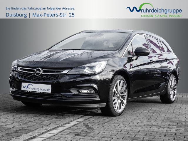 Opel Astra K Sports Tourer Ultimate 1.4 Turbo Leder LED Navi Keyless Massagesitze e-Sitze Parklenkass., Jahr 2017, Benzin