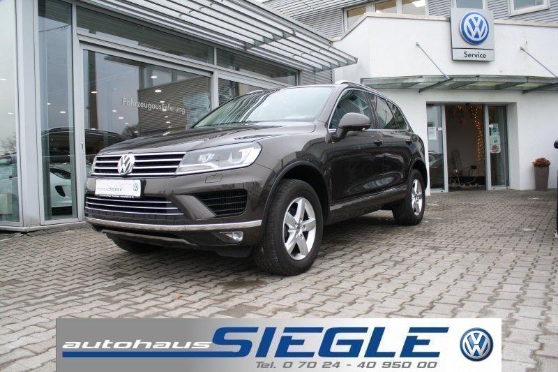 Volkswagen Touareg 3.0 TDI Leder*Navi*Xenon*AHK*Mod.2016, Jahr 2015, Diesel