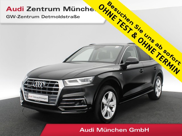 """Audi Q5 2.0 TDI qu. Sport S line Virtual Matrix Navi R-Kamera Assistenz 19"""" S tronic, Jahr 2018, diesel"""