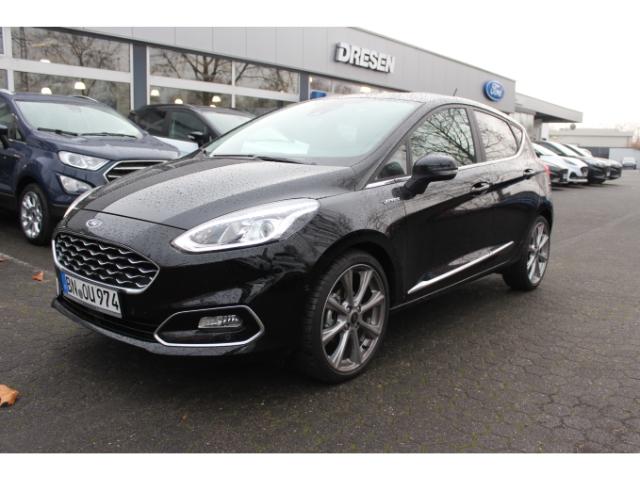 Ford Fiesta Vignale 1.0 *35% Nachlass* EU6d-T Leder-Stoff+Navi+Winter-Paket, Jahr 2019, Benzin