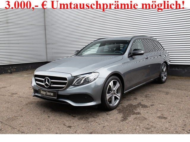 Mercedes-Benz E 220 d T Avantgarde Night+SHD+AHK+Kamera+EU6d-T, Jahr 2020, Diesel