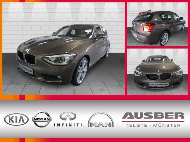 BMW 125i BI-XENON GLASDACH MEMORY 4.988 KM!, Jahr 2013, petrol
