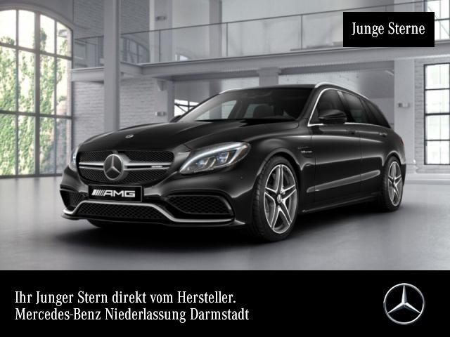 Mercedes-Benz C 63 AMG T Driversp Pano Distronic Burmester HUD, Jahr 2017, Benzin