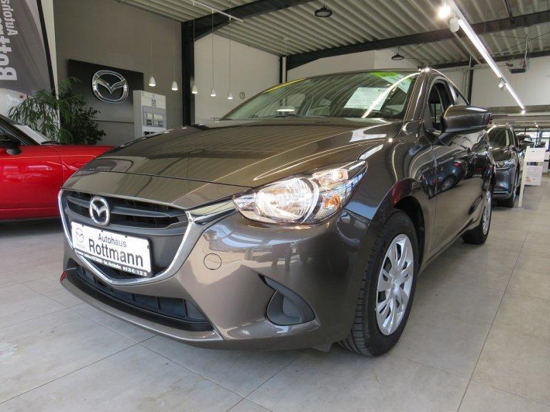 Mazda 2 SKYACTIV-G 75 55 kW (75 PS),Center-Line,Klima,1.Hand... 1.Hand,Klima,EURO6,Start-Stop,Tempomat.., Jahr 2017, Benzin