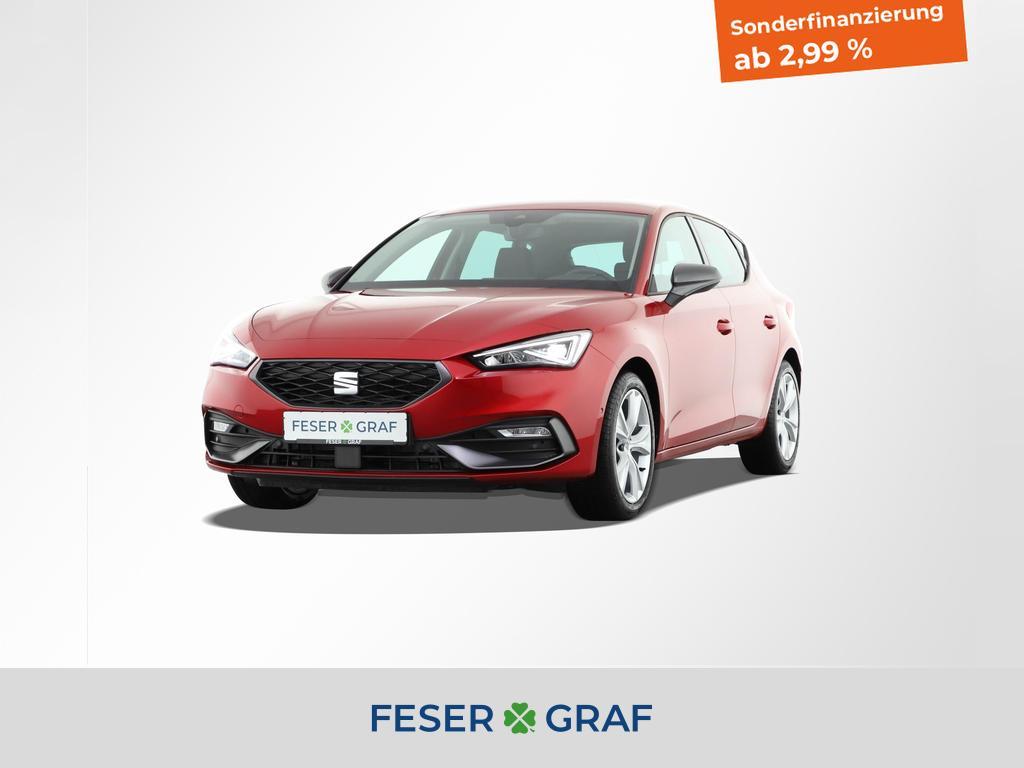 Seat Leon FR 1.5 TSI 110kW Navi|5J-Garantie|LED, Jahr 2020, Benzin