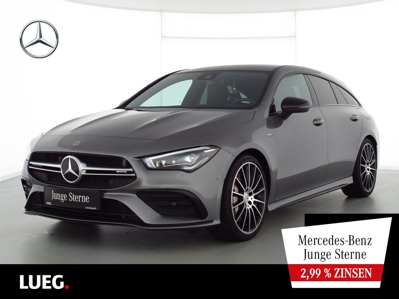 Mercedes-Benz CLA 35 AMG SB 4M MBUX+NavPrem+Mbeam+Sound+Kamera, Jahr 2020, Benzin