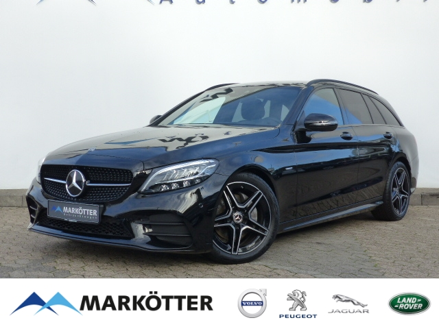 Mercedes-Benz C 220 d T AMG Night Edition Distronic/New Model, Jahr 2021, Diesel