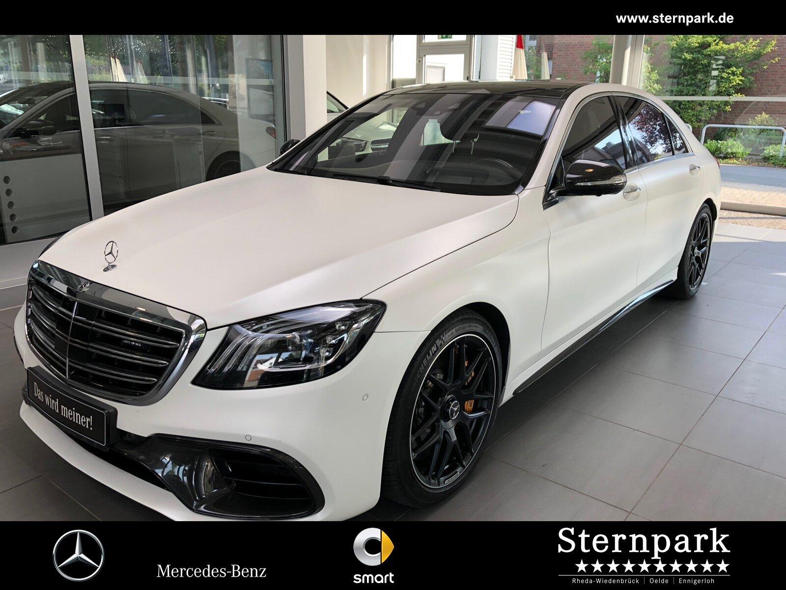 Mercedes-Benz S63 AMG 4M+L COMAND*Burm3D*Pano*Standh*FahrAss-P, Jahr 2019, Benzin