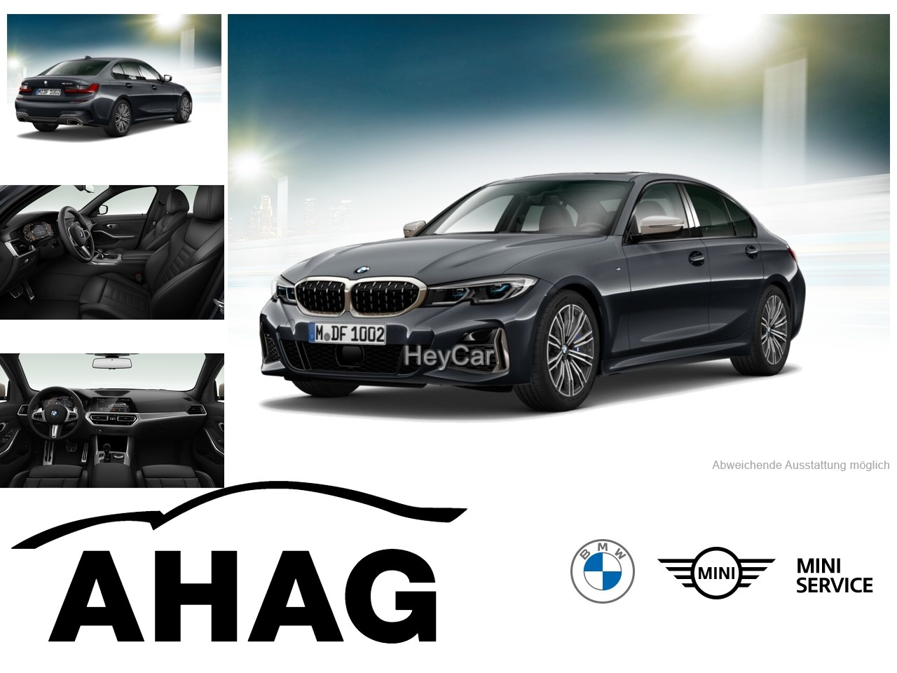 BMW M340I XDRIVE A, Jahr 2020, Benzin