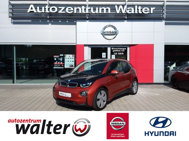 BMW i3 Baureihe i3 REX, Klimaautomatik, Rückfahrkamera, Sitzheizung, Jahr 2014, Elektro