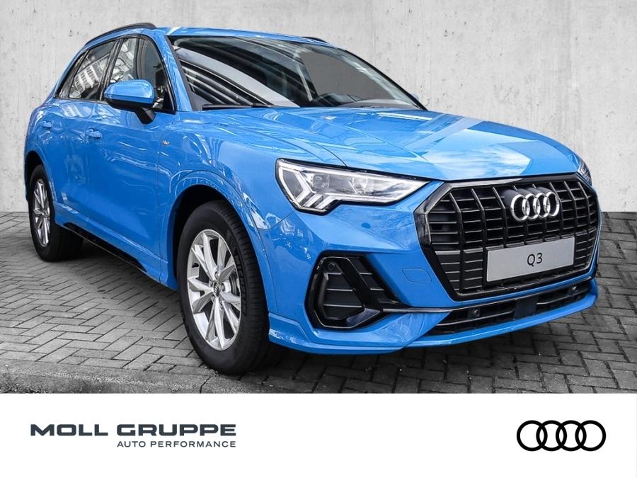 Audi Q3 35 TDI S tronic S line S line LED Apple CarPl, Jahr 2020, Diesel