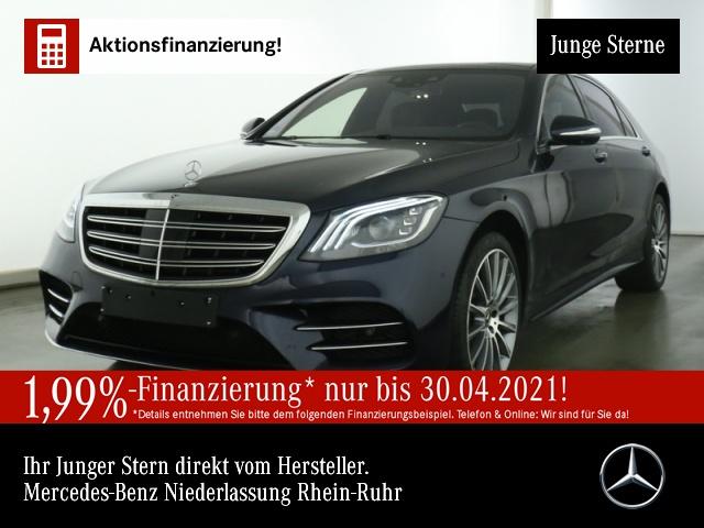 Mercedes-Benz S 560 4M L AMG/Excl./PANO/HuD/Fahrass-Paket/Burm, Jahr 2019, Benzin