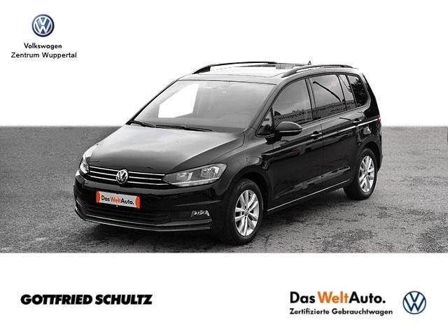Volkswagen Touran 1 6 TDI DSG NAVI PANO AHK SHZ PDC LM ZV, Jahr 2018, Diesel
