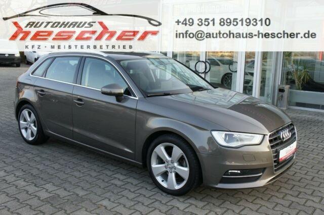 Audi A3 Sportback 1,4TFSI Ambition*XENON*NAVI*AHK*, Jahr 2013, Benzin