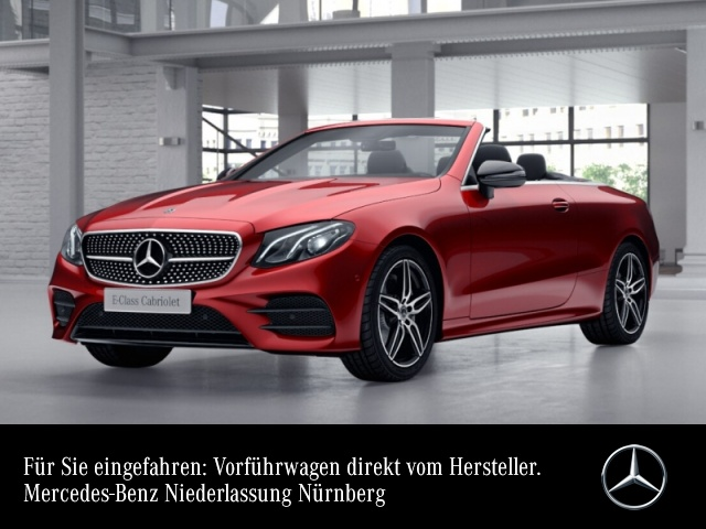 Mercedes-Benz E 200 Cab. AMG WideScreen LED Night Airscarf PTS, Jahr 2020, Benzin
